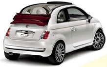 Group Fiat 500 Cabrio (or similar)